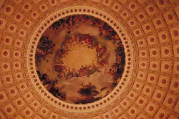 Ceiling of Capitol Rotunda